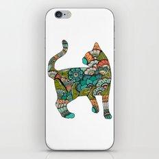 Vegetarian cat iPhone & iPod Skin