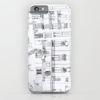 iPhone & iPod Case featuring Algún lloc aprop del carrer Comtal by Sasa