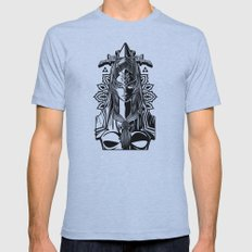 Legend of Zelda Midna the Twilight Princess Line Work Mens Fitted Tee Athletic Blue SMALL