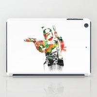 Boba Fett Print iPad Case