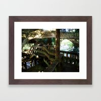 Tree house @ Aguadilla 5 Framed Art Print