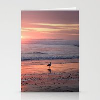 Sunset At Cannon Beach O… Stationery Cards