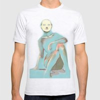 Color Fun 03 Mens Fitted Tee Ash Grey SMALL