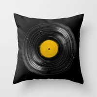 Sound System Throw Pillow