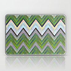 Emerald Chevron Laptop & iPad Skin