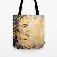 Looking To The Future -b… Tote Bag