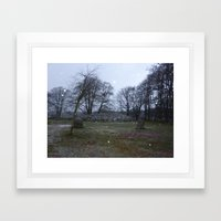 Clava Cairns Framed Art Print