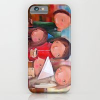 iPhone & iPod Case featuring Foundling by Monica Blatton