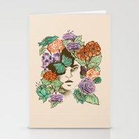 Brianna's Garden Stationery Cards