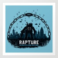 Rapture 1960 Art Print