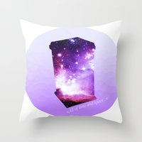 All Of Time And Space - … Throw Pillow