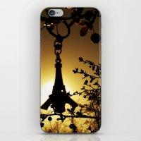 Shadow Of The Parisian iPhone & iPod Skin