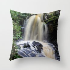 Full Flow Throw Pillow