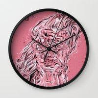 Vessel of Woman Wall Clock