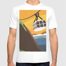 There's something about Rio Mens Fitted Tee White SMALL