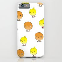 iPhone & iPod Case featuring Oranges and Lemons by KEEKI // Ali Cattini