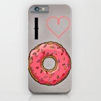 I Love Donut iPhone 6 Slim Case