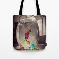 Swim in Color Tote Bag