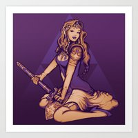 It's Dangerous To Go Alo… Art Print