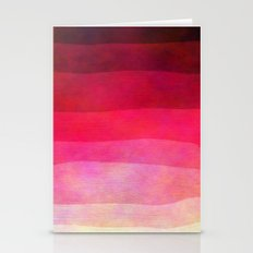 Abstract Stripes Stationery Cards