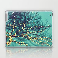 Twinkle Lights Laptop & iPad Skin