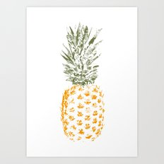 Pineapple I Art Print