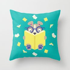 Curiosity Time Throw Pillow