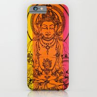 iPhone Cases featuring Buddha by Brianna M. Garcia