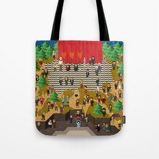 Super Twin Peaks Tote Bag