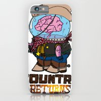 iPhone & iPod Case featuring country returns by benjamin chaubard