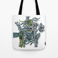 Holy Dance - Print Avail… Tote Bag
