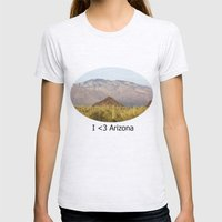 Saguaro National Park Womens Fitted Tee Ash Grey SMALL