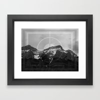 Peak Season Framed Art Print