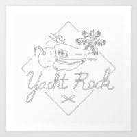 Yacht Rock Art Print