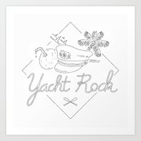 Yacht Rock Art Print