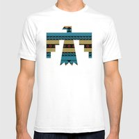 Thunderbird Mens Fitted Tee White SMALL