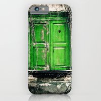 iPhone & iPod Case featuring Window to the heart by Ginta Spate