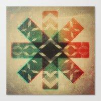 Technicolor Dream-o-Scop… Canvas Print
