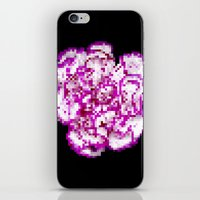 8BIT flower iPhone & iPod Skin