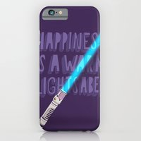 Happiness is a warm Lightsaber iPhone 6 Slim Case
