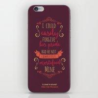 Jane Austen's Elizabeth … iPhone & iPod Skin