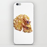 60. Flower Skull iPhone & iPod Skin