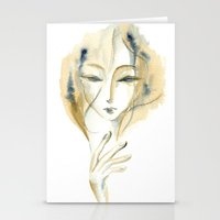 Madame Ochre Stationery Cards
