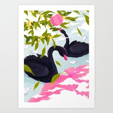 Perth Summer Art Print