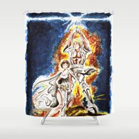 STAR WARS: A New Hope Watercolor Shower Curtain
