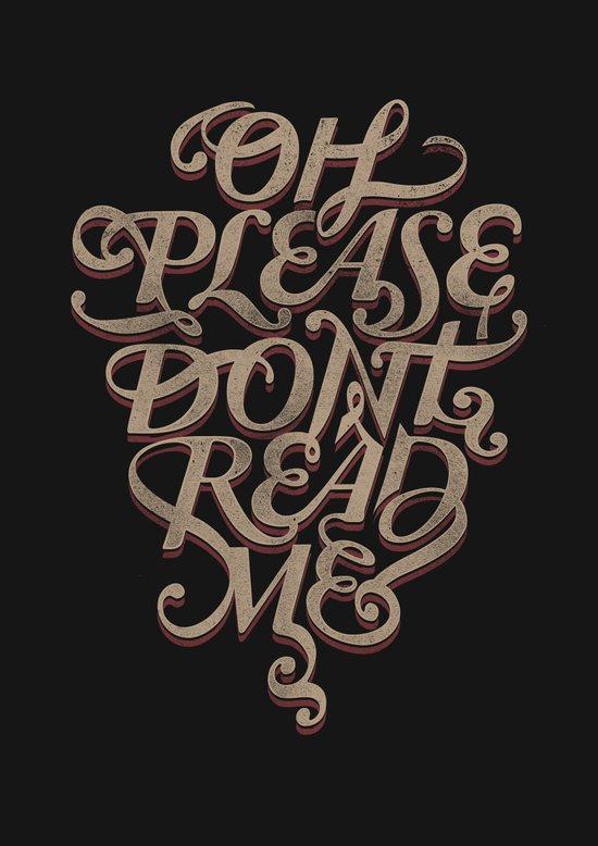 Please Don't Art Print