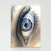 Delft Blue Eye Stationery Cards
