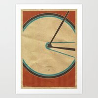 Singlespeed Art Print
