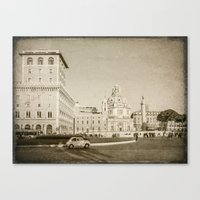 Eternal City (Plaza Vene… Canvas Print