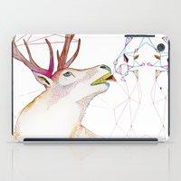 October Deer iPad Case